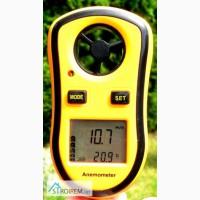 Цифровой анемометр GM8908 (TAM817) ( 0-30м/с) (цена деления - 0,1 м/с)