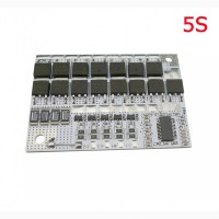 LiFePO4 BMS 3S 4S 5S 100А, 16V Контроллер заряда разряда, плата защиты аккумулятора