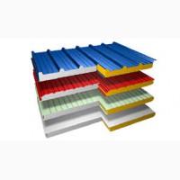 Сендвич панели (базальт/пенополистирол), т.50-250мм