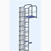 Лестницы металлические промышленные