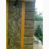 Природный камень-песчаник, облицовка
