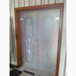 Двери стеклянные
