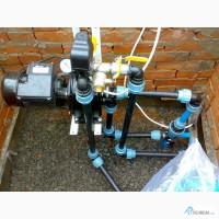 Монтаж Водоснабжения Отопления, Ремонт, установка водяных насосов Киев Обл