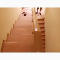 Ремонт реставрация деревянных лестниц Киев