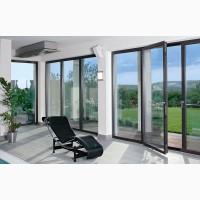 Алюминиевые окна, двери, перегородки. Стильные и современные