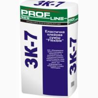 Еластична клейова суміш ProfLine Flexible ЗК -7 25 кг