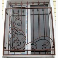 Решетки на окна, кованые