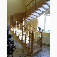 Сходи бетонні на боковому та центральному косоурах (бетонна основа дерев#039;яних)