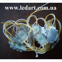 Светодиодные модули 2 диода в Киеве и блоки питания 12 В