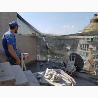 Алмазная резка бетона стенорезными машинами