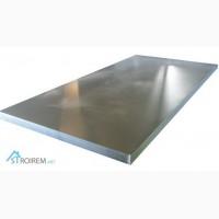 Лист н/ж 110 мм сталь 08Х17Т AISI 430 размер 1, 25х2 м