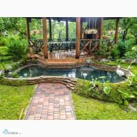Построим, сделаем красивый плавательный пруд (пруд для купания, экопруд, водоем)