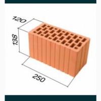 Керамічний кирпич подвійний 2 НФ, керамоблок