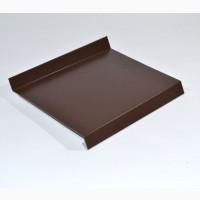 Отливы, козырьки изделия из оцинкованного металла по вашему чертежу (гибка) от