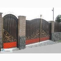 Ворота кованые, сварные, решетчатые, Коростень