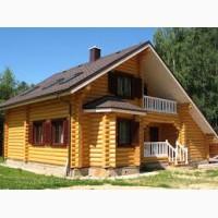 Строительство домов, беседок, бань, коттеджей из сруба Днепр и область