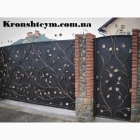Кованые ворота и калитки в Киеве и Киевськом регионе