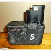 5 Аккумулятор Bosch 12V 1, 2Ah (2 607 335 108)