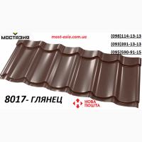 Глянцевая коричневая, 0, 4мм RAL8017