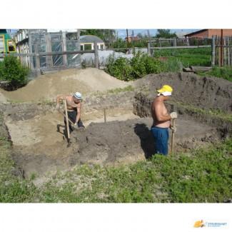 Выкопать траншею, выгребную яму, донецк