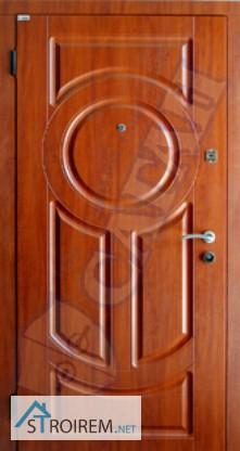 двери металлические на улицу мдф