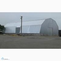 ЗЕРНОСХОВИЩА, арочні АНГАРИ (ширина 10м, 12м, 15м, 18м, довжина - будь-яка)