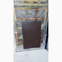 Плита 900*600*30, натуральный, камень, коричневый цвет, - площадка для автомобилей