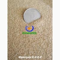 Кварцевый сухой песок 0, 4-0, 8