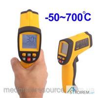 Пирометр инфракрасный с лазерным указателем GM700 -50~700#8451; В КЕЙСЕ!!!