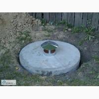 Сливная яма под ключ, чистка колодца, новый колодец, кольца бетонные