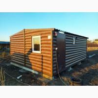 Баня-домик из двух модулей 30м.кв