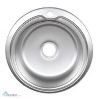 Мойка кухонная 51 см Platinum декор 0, 6 мм