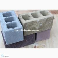 Шлакоблок скала. Рваный камень