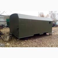 Кунг вагончик, двухсекционный, демонтируемый с автомобиля Камаз утепленный