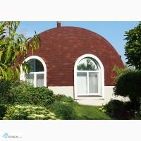 Строительство купольного дома-сферы от компании Гинко. Днепропетровск.Украина