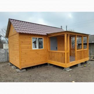 Дачный домик на Ваш вкус из любых материалов, недорого