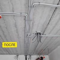 Услуги электрика без пыли.Штробление без пыли Hilti