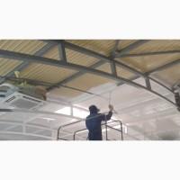 Покраска безвоздушная механизированная быстро и качественно