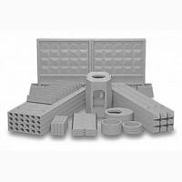 Производство бетонного забора, бетонных колец, крышек