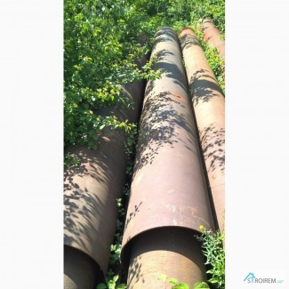 Трубы демонтаж 630х8мм