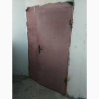 Дверь металлическая входная б/y