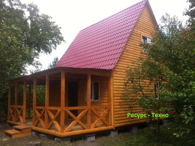 Фото 6. Дачные домики. Бытовки из дерева