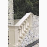 Купить декоративный бетонный кирпич Карат. Фасадная облицовка