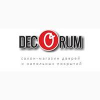 Двери и напольные покрытия в магазине Декорум в Днепре