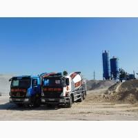 Производство, доставка бетона в Днепропетровской области