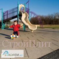 Покрытие защищающее от травм при падении на детской площадке