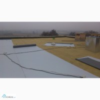 Текущий ремонт кровли элеватора в Мариуполе