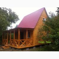 Дачные домики недорогие строим в любое время года